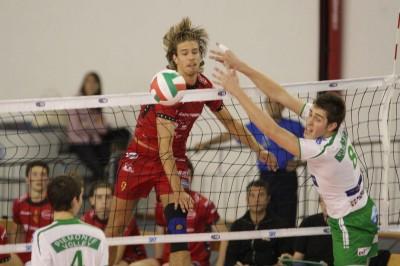 Kovar con la maglia della Sisley Volley Under 20